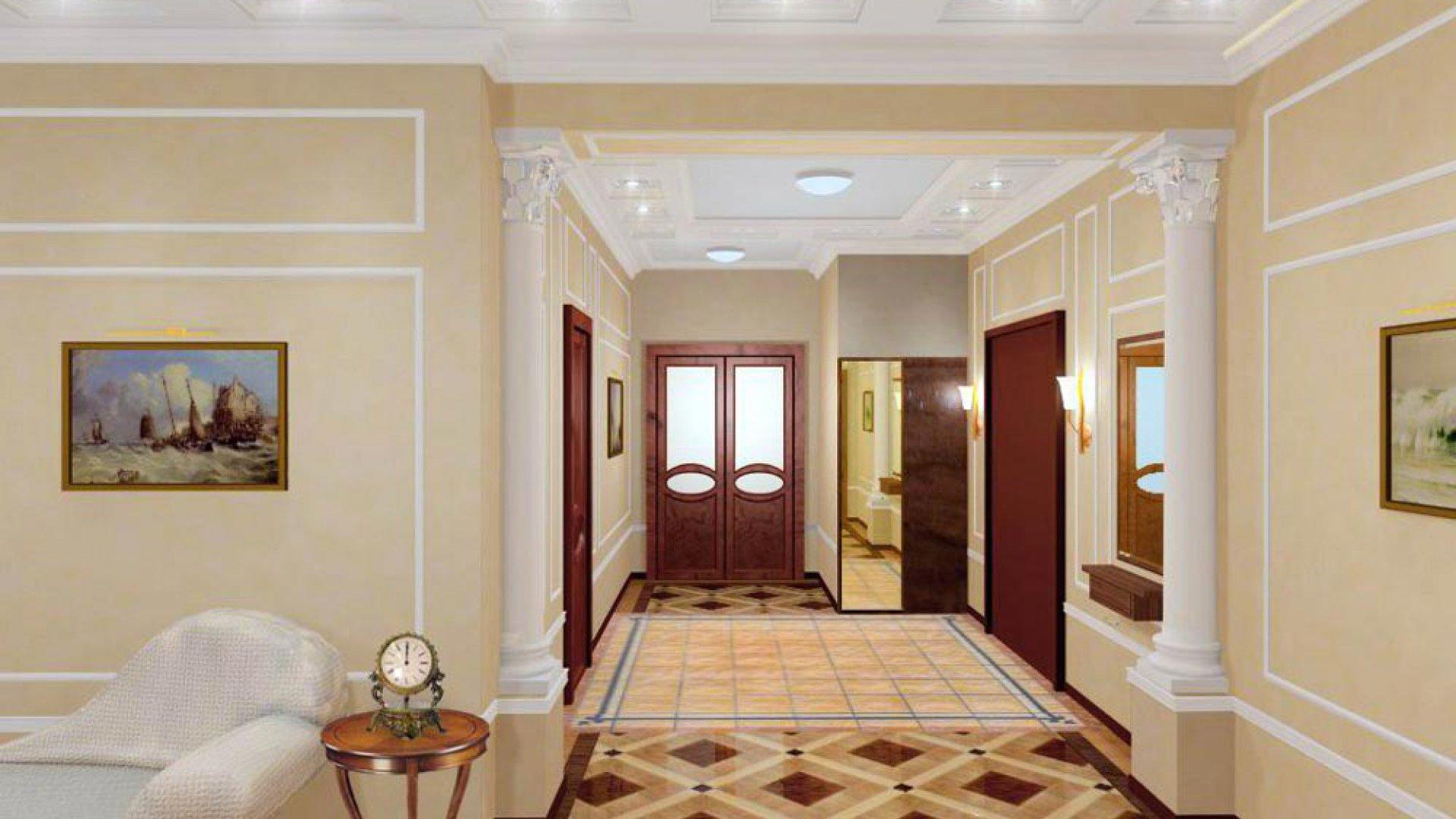 Дизайн и отделка квартир в классическом стиле